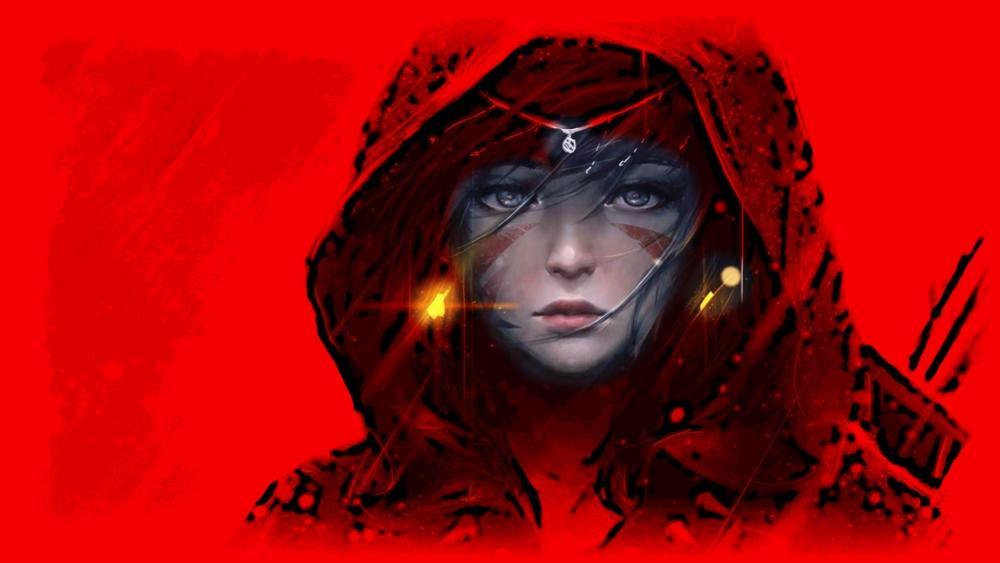 Woman warrior - Fantasy art wallpaper