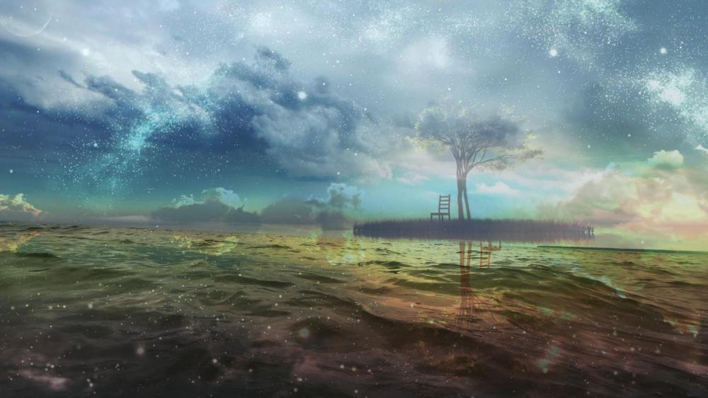 Dream world - Fantasy art wallpaper