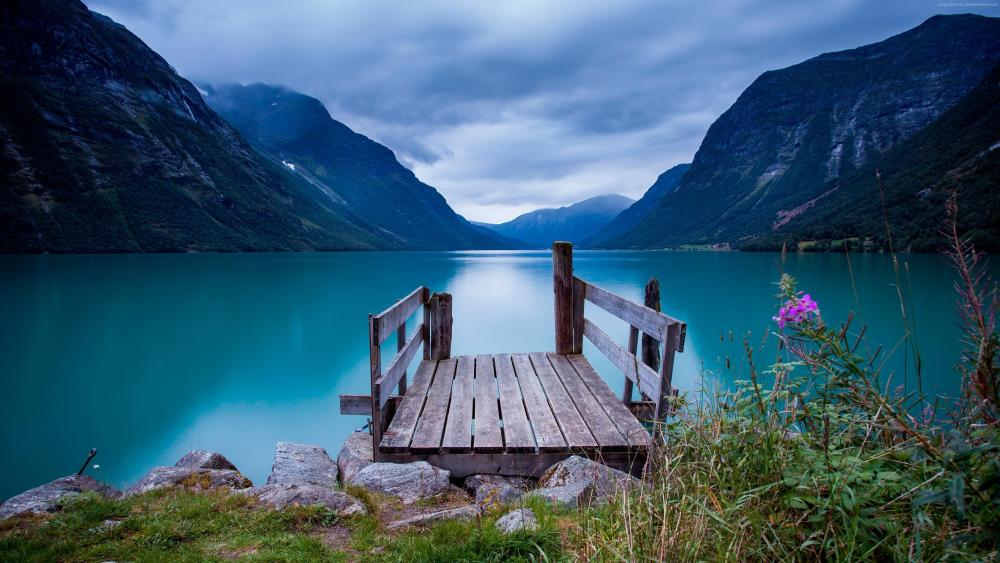 Most beautiful scenery from Norway wallpaper