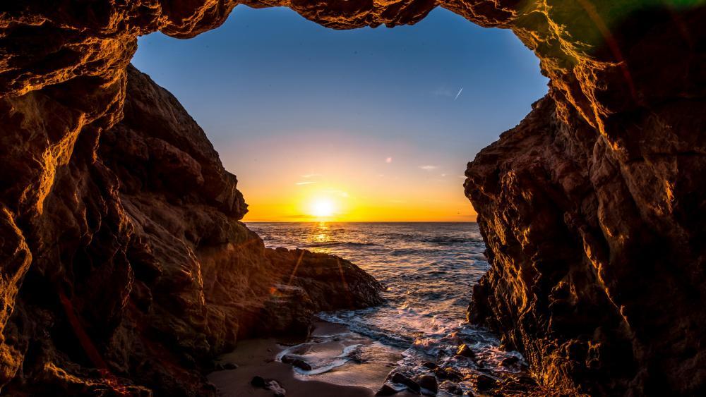 Sunset At El Matador State Beach - Malibu, California ...