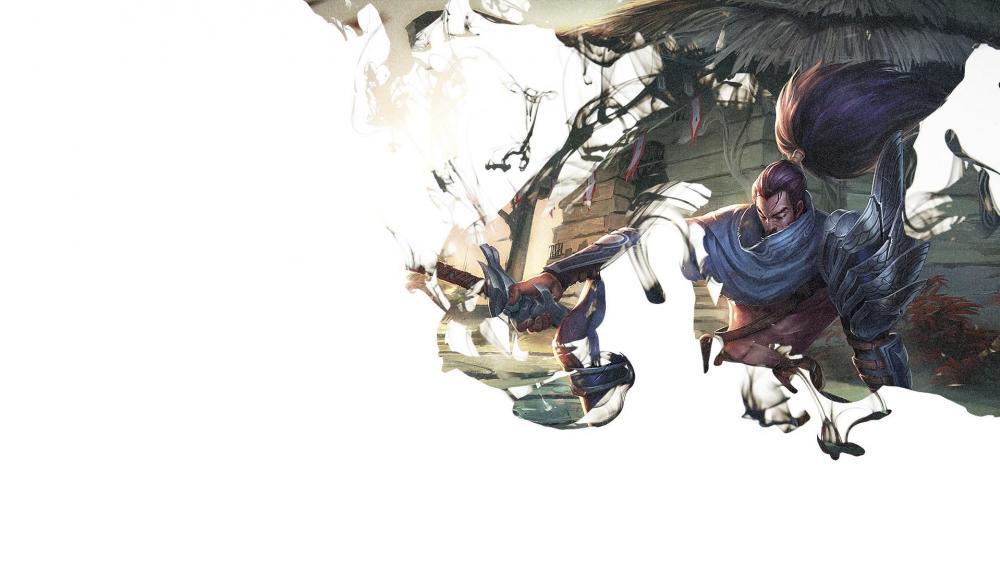 Wind Sword - Anime art wallpaper