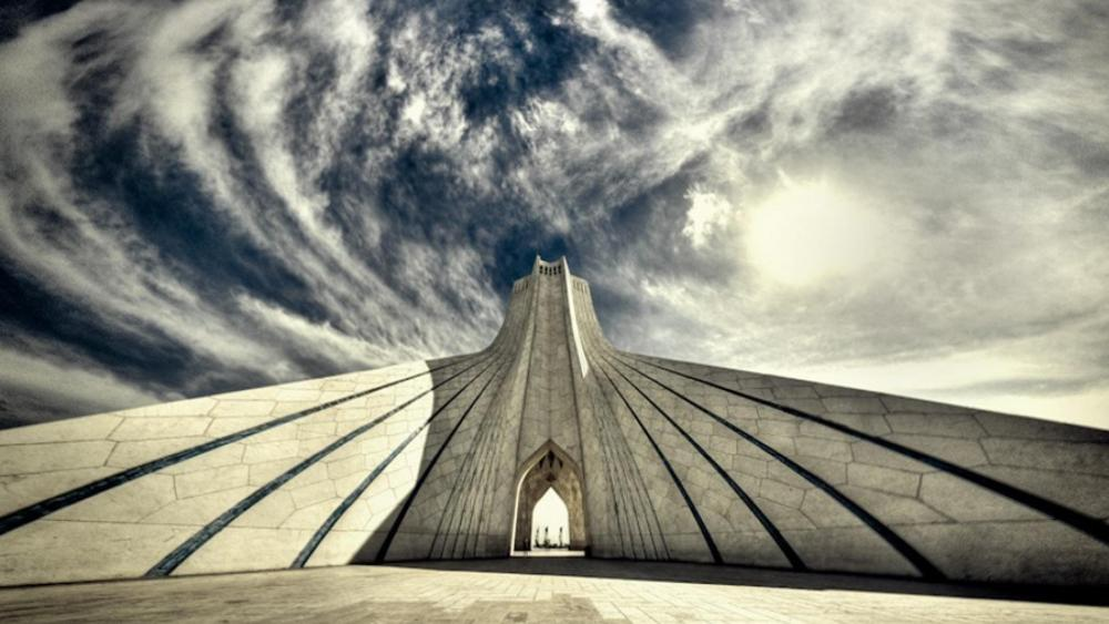 Azadi Tower in Tehran, Iran wallpaper