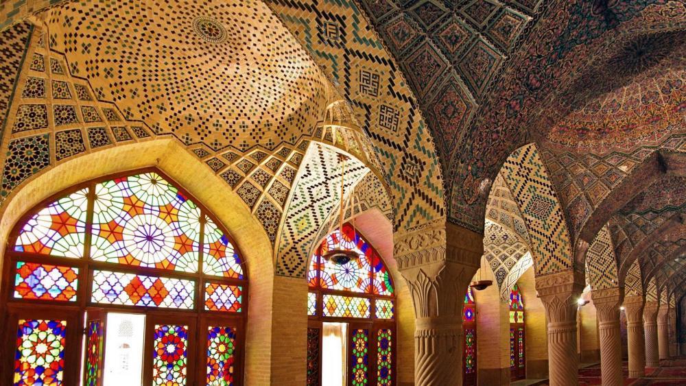 Nasir ol Molk Mosque - Shiraz, Iran wallpaper