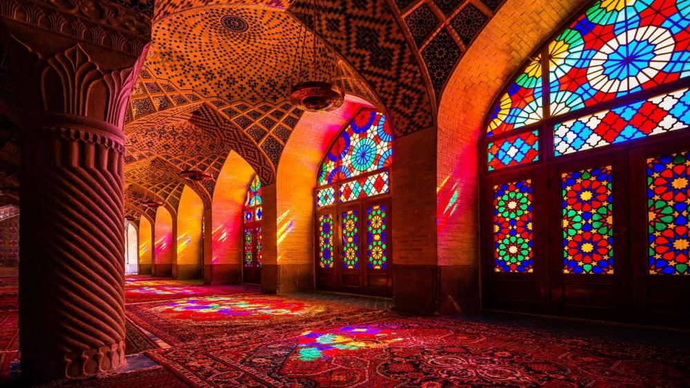 Nasir ol Molk Mosque - Shiraz, Iran wallpaper