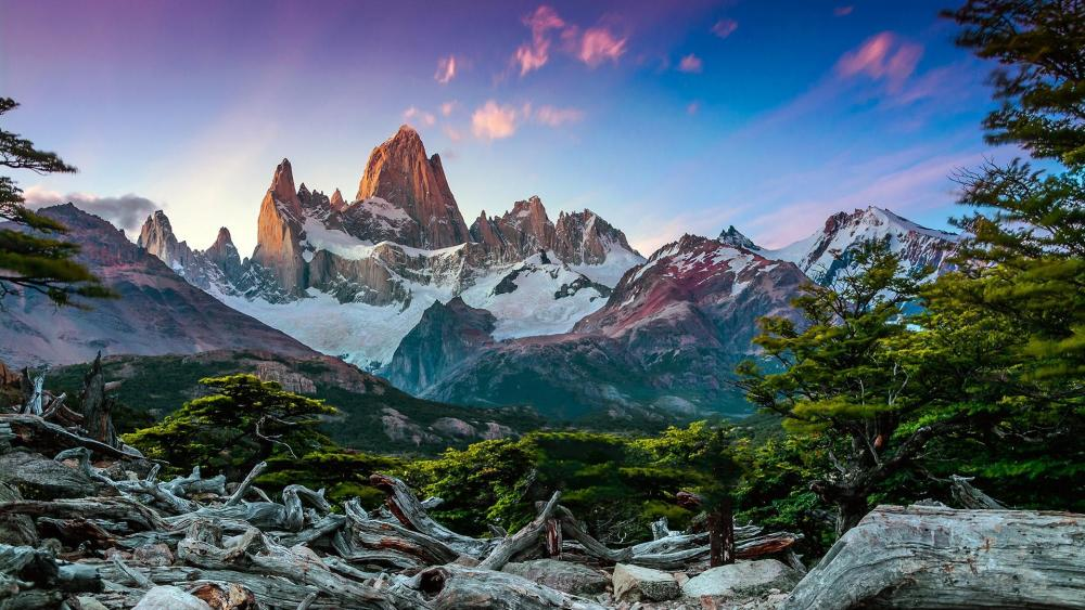 Fitz Roy Mountain, Argentina wallpaper