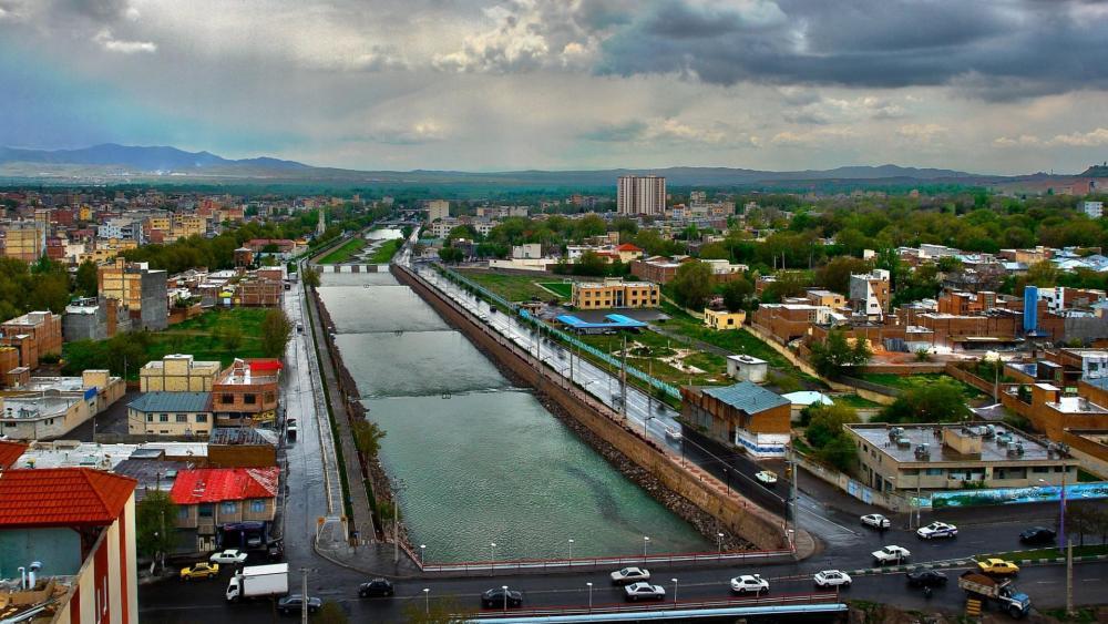 Maragheh City wallpaper