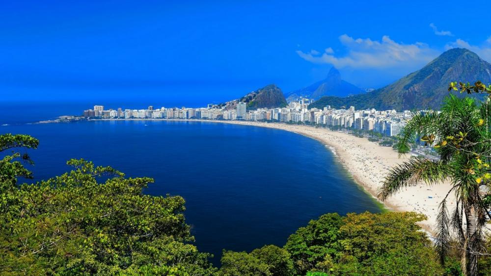 Copacabana, Rio de Janeiro wallpaper