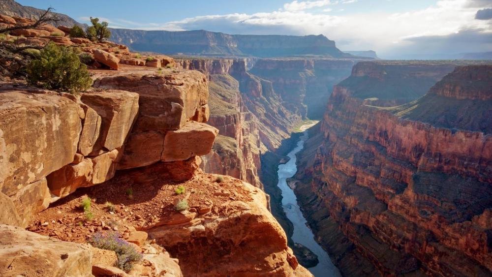 Toroweap Overlook panorama wallpaper