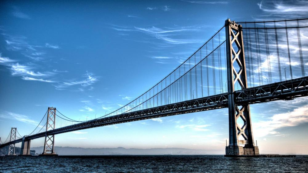 San Francisco – Oakland Bay Bridge wallpaper