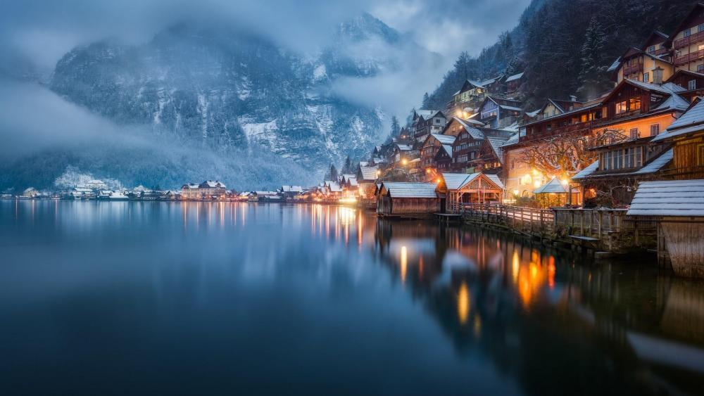 Bad Goisern - The most romantic place in Austria wallpaper