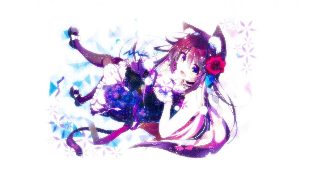 Nekomimi - Cat girl wallpaper