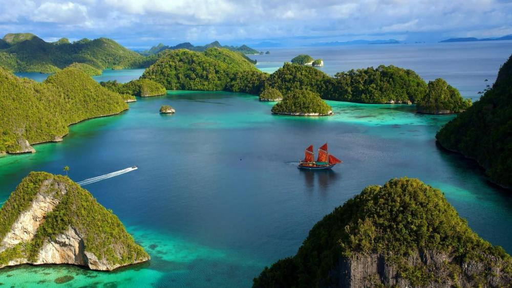 Wonderful Indonesia - Raja Ampat Islands, Papua wallpaper