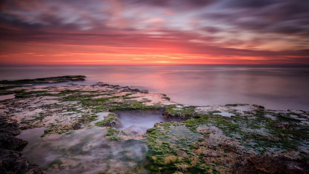 Coast of Torrevieja at morning - Spain wallpaper