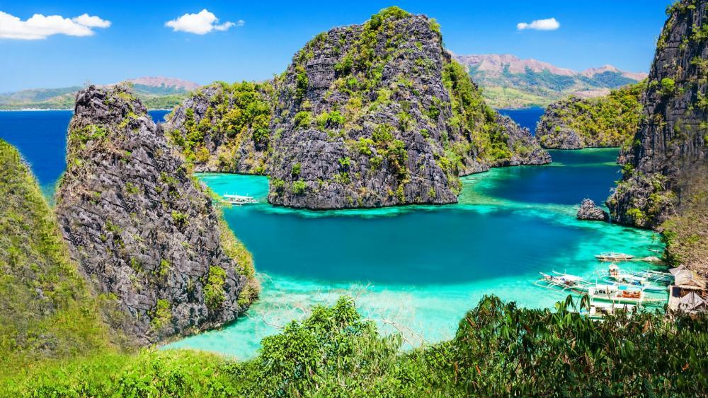 Coron Island - Palawan, Philippines wallpaper