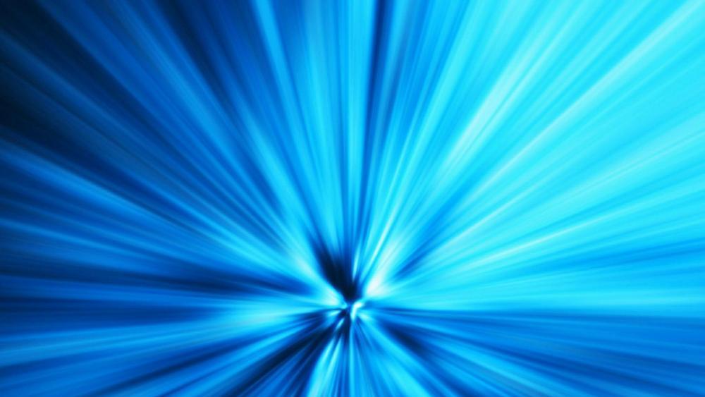 Big Bang Blue wallpaper
