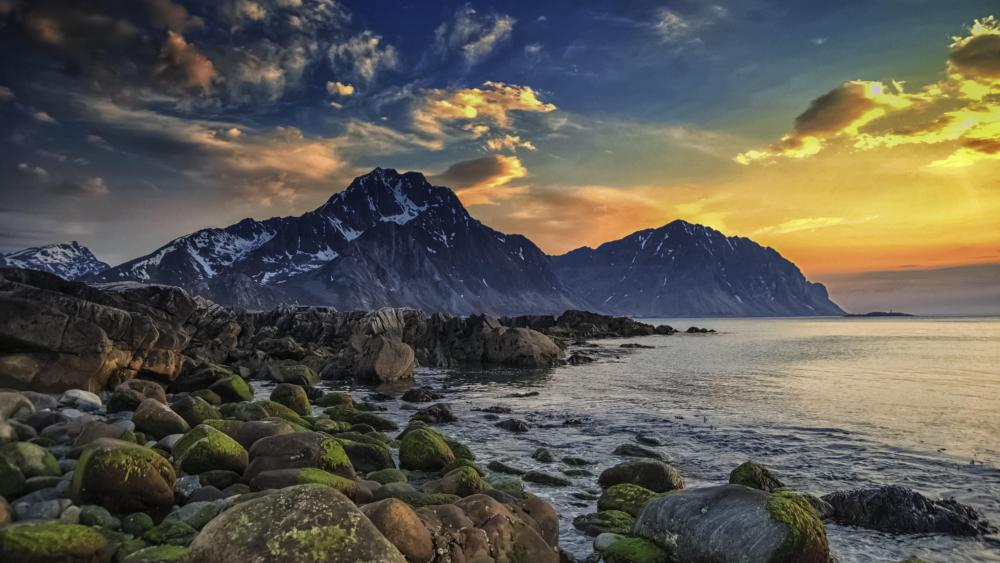 Lofoten Inseln wallpaper