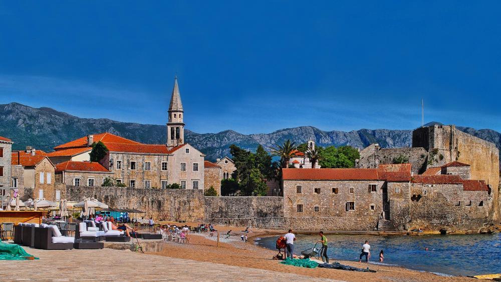 Budva the Old Town wallpaper