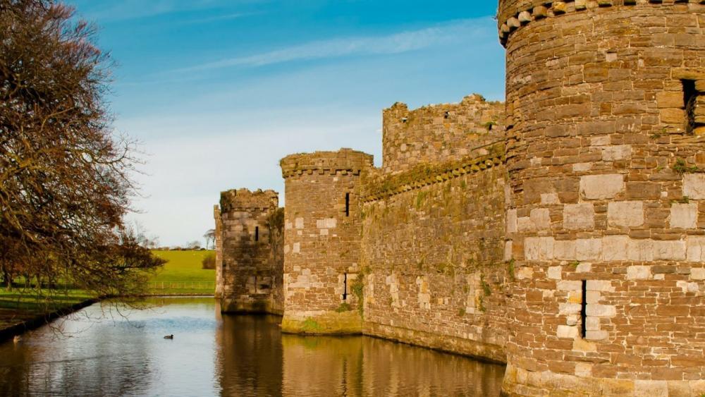 Beaumaris Castle - Wales wallpaper