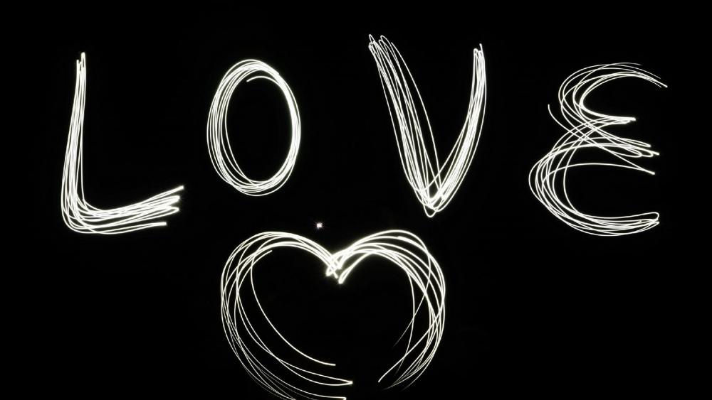 Love lights  wallpaper