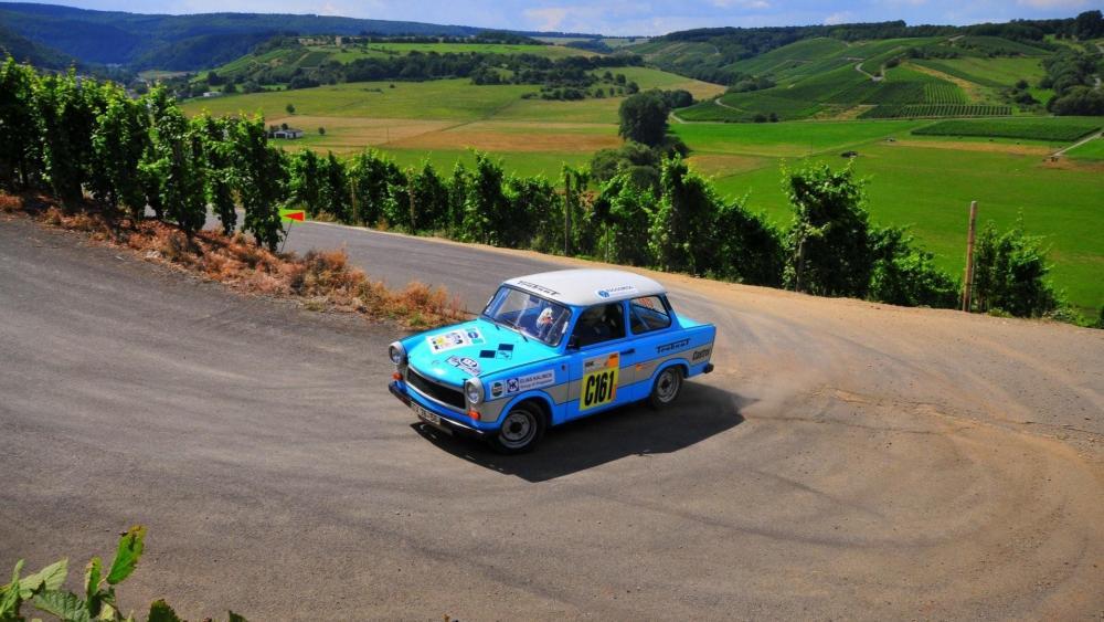 Trabant race car wallpaper