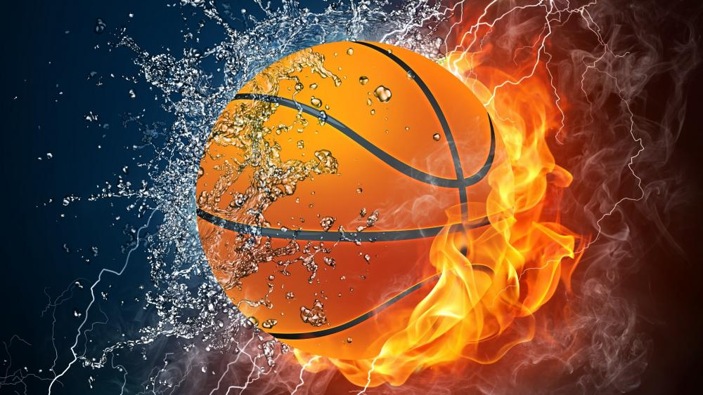 Basketball - Digital art wallpaper