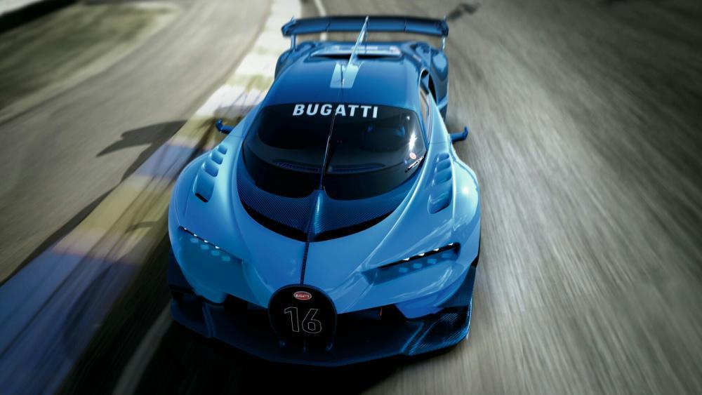 2015 Bugatti Vision Gran Turismo wallpaper