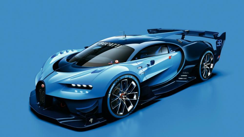 Bugatti Vision Gran Turismo 2015 wallpaper