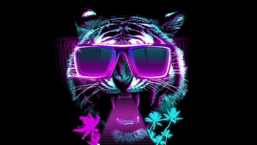 Miami Tiger wallpaper