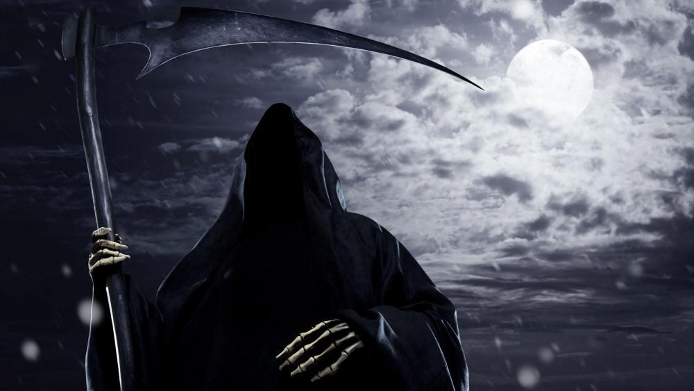 Grim Reaper - Fantasy art wallpaper