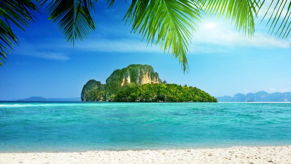 Beautiful view form Tup Island, Thailand wallpaper