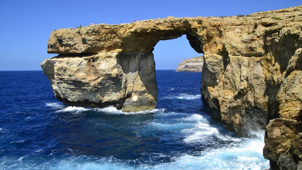 Azure Window - Gozo, Malta wallpaper