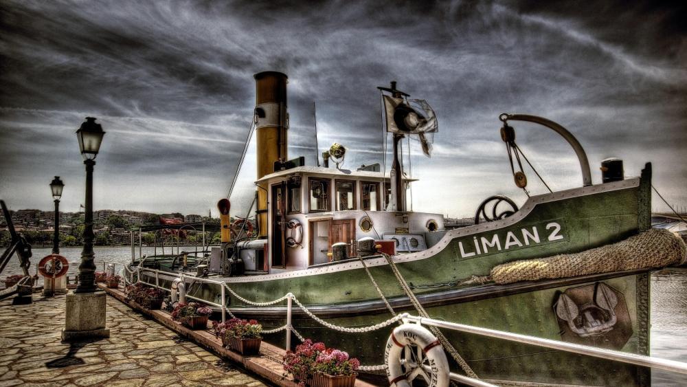 Liman 2 tugboat  wallpaper