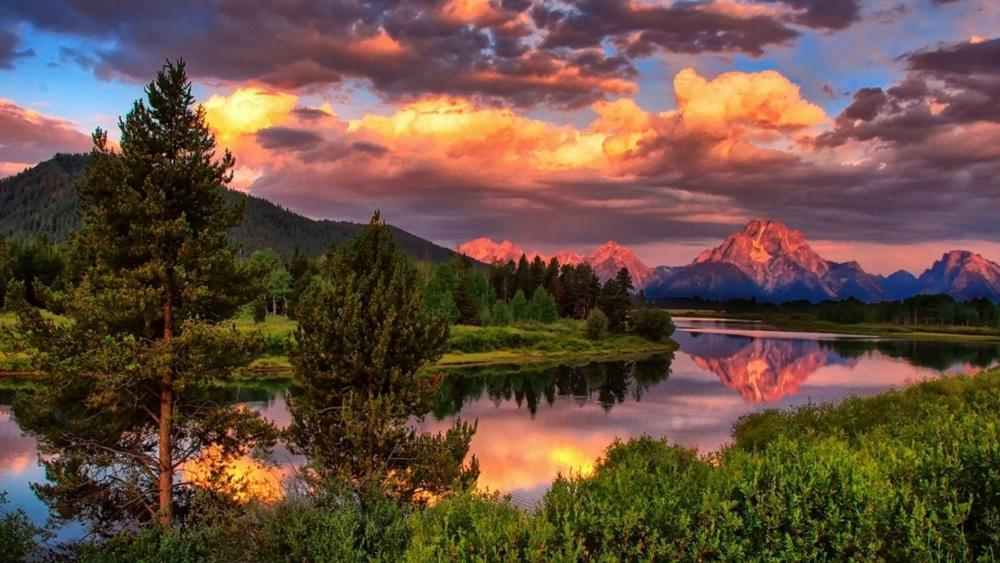 Grand Teton National Park, Mount Moran wallpaper