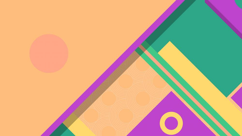 Pastel colors material design wallpaper