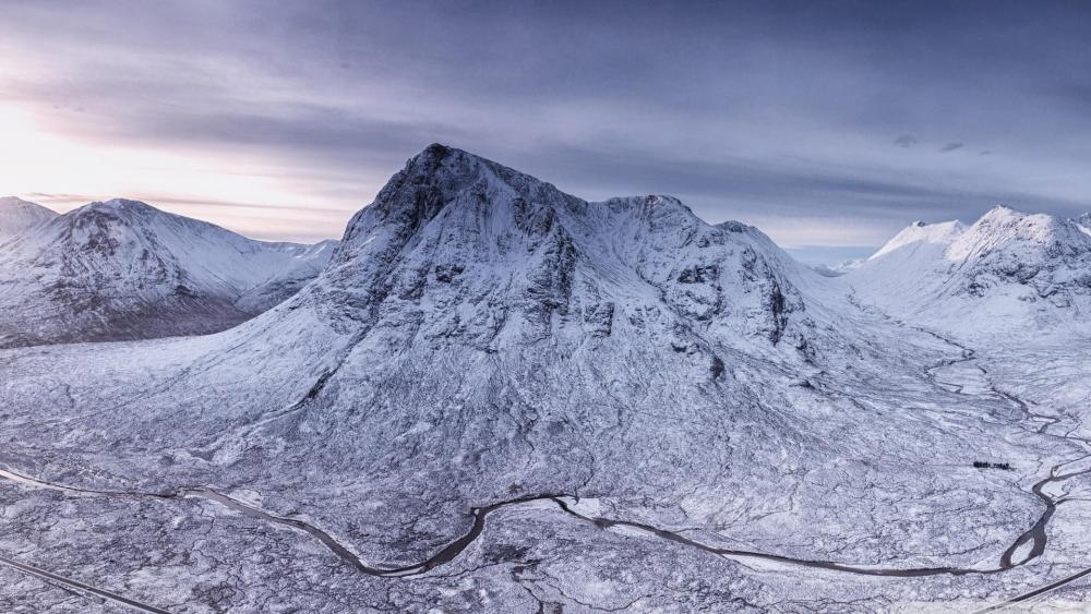 Buachaille Etive Mòr -Beautiful mountain of the world wallpaper