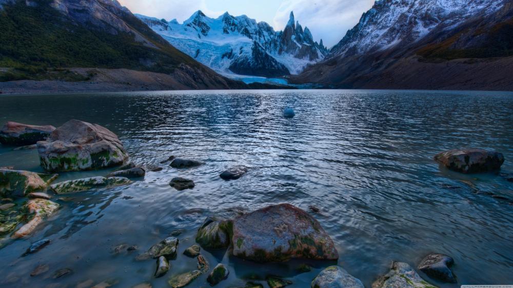 Cerro Torre - Iconic mountain in Patagonia wallpaper