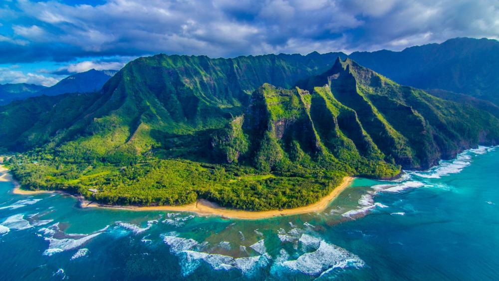 Nā Pali Coast State Park - Hawaii wallpaper