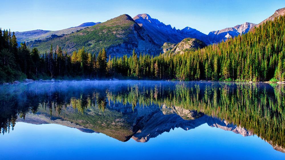 Bear Lake - Rocky Mountain National Park, Colorado wallpaper