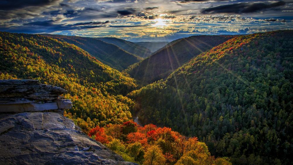 Lindy Point Overlook - West Virginia wallpaper