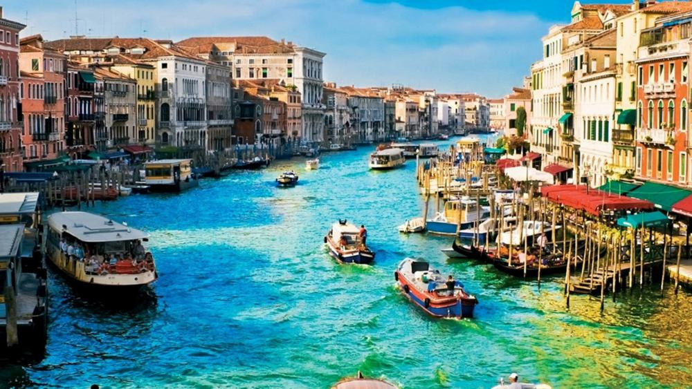Grand Canal - Venice, Italy wallpaper