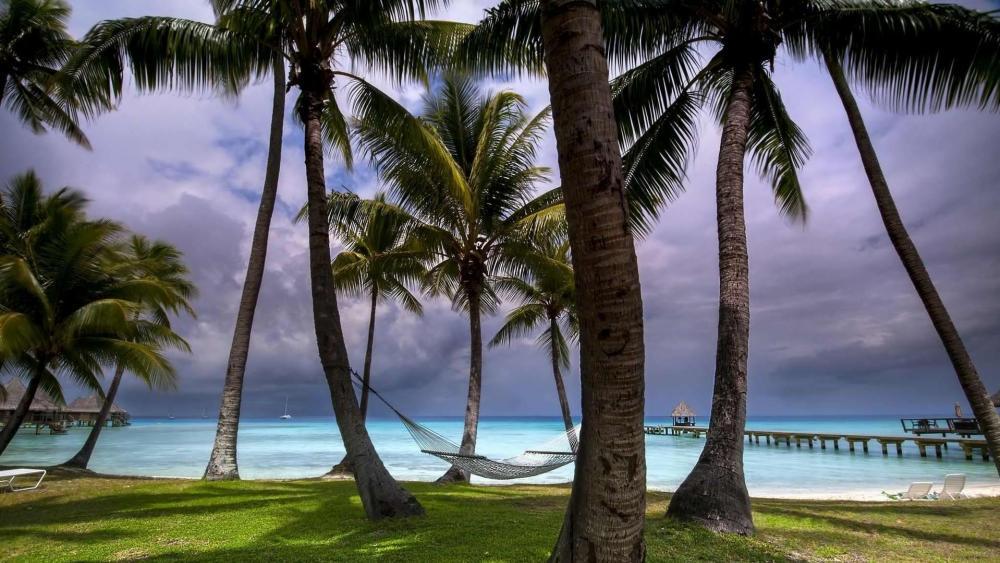 Rangiroa - French Polynesia wallpaper