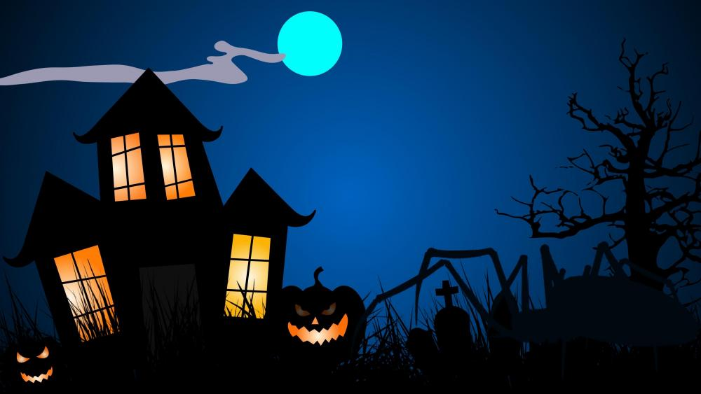 Halloween night  wallpaper