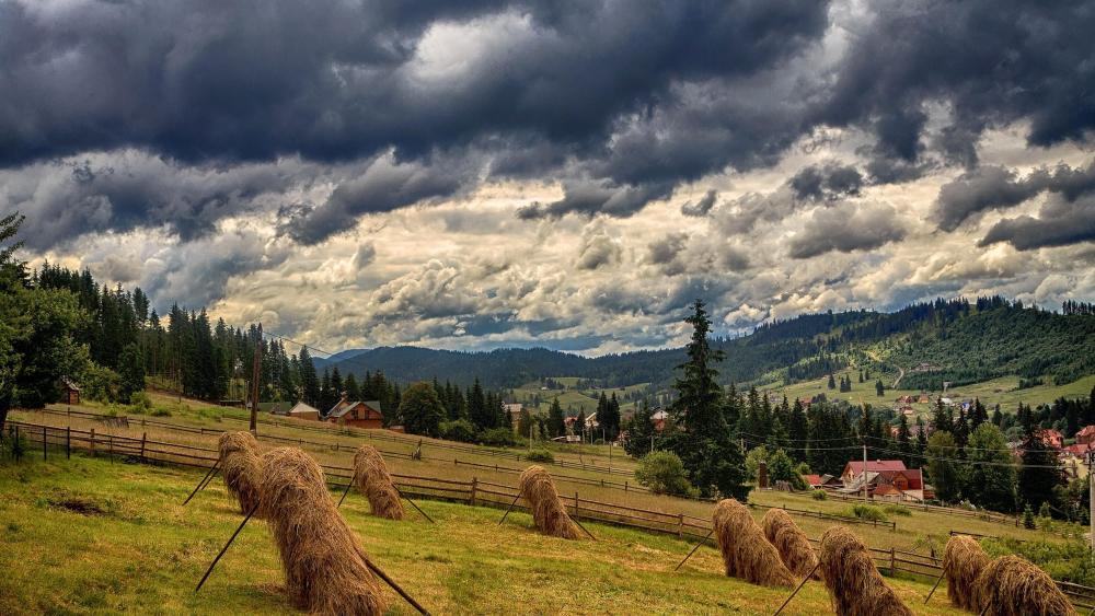 Carpathian Mountains - Bukovel, Ukraine wallpaper