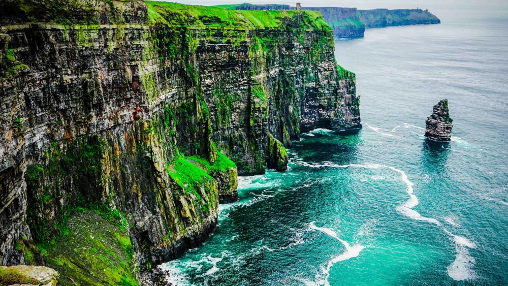 Cliffs of Moher - County Clare, Burren, Ireland wallpaper