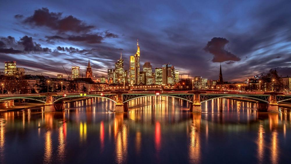 Amazing Frankfurt wallpaper
