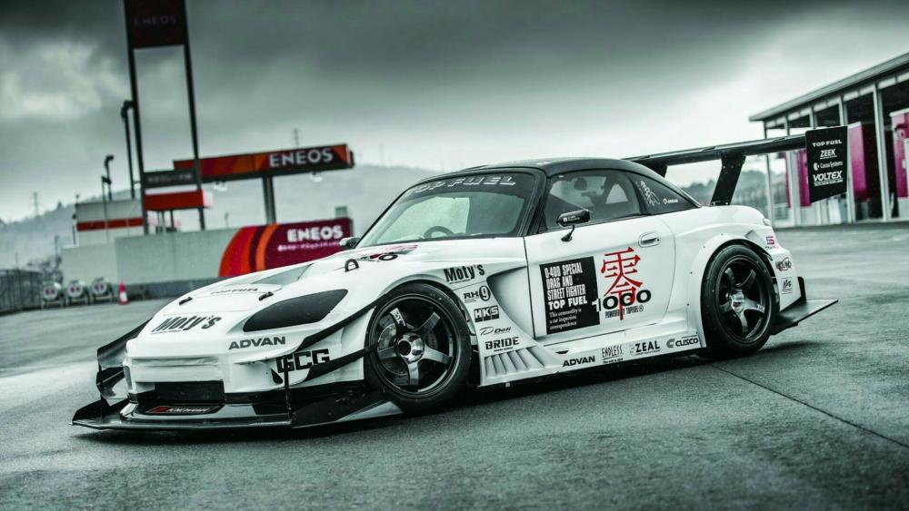 Honda S2000 race car wallpaper