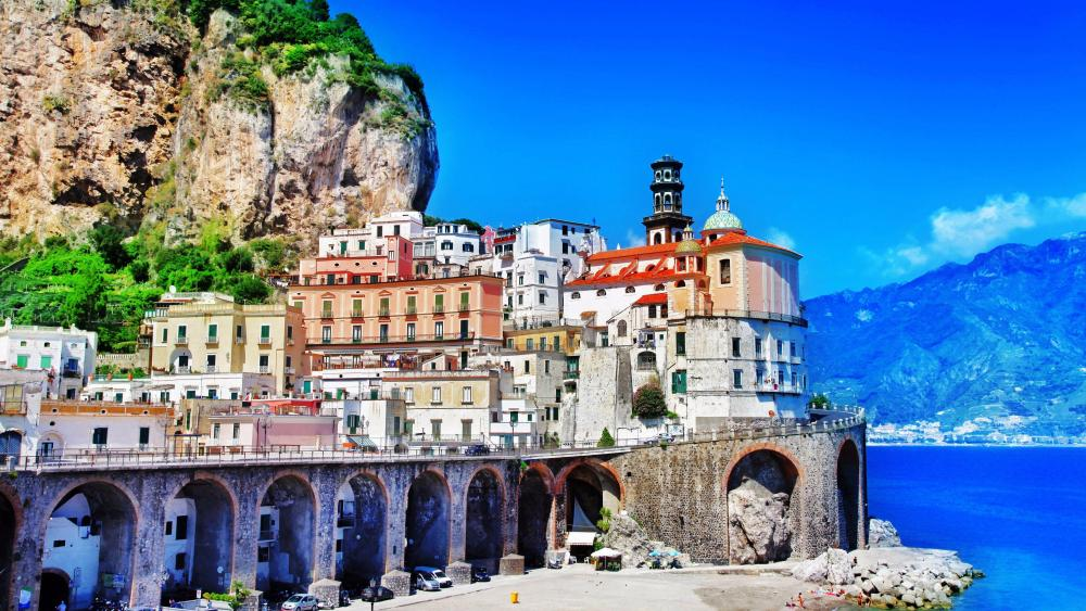 Atrani - Amalfi coast wallpaper