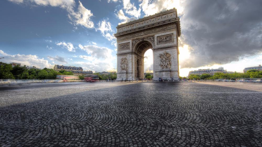 Arc de Triomphe - Paris wallpaper