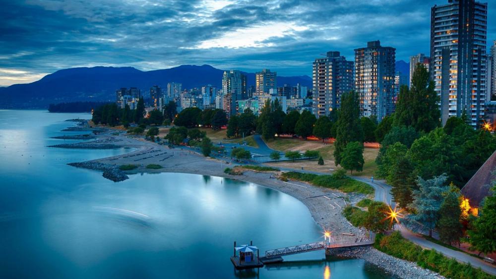 English Bay Beach - Vancouver wallpaper