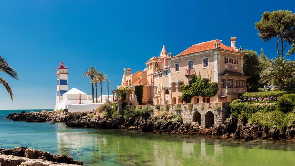Santa Marta Lighthouse Museum - Cascais, Portugal wallpaper
